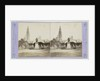 Antwerp Anvers Antwerpen, The Cathedral, Rubens statue and Green Square by Jules Queval