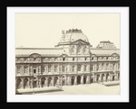 Courtyard (Cour) of the Louvre, Paris by Achille Quinet