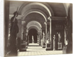 A gallery in the Louvre by Achille Quinet