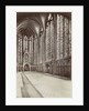 Interior of Sainte-Chapelle, Paris, France by Anonymous