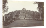 Borobudur seen from the northwest Indonesia by Kassian Cephas