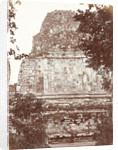 Buddhist temple mendut by Woodbury & Page