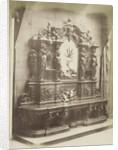 Carved Walnut Sideboard by C.M. Ferrier & F. von Martens