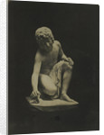 Boy and Butterfly. (Marble) Thrupp by Anonymous