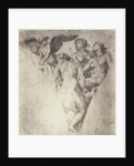 Drawing Raphael from Windsor Castle, angel and three women by Charles Thurston Thompson