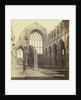 Holyrood Abbey; Interior UK by George Washington Wilson