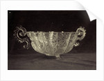 Crystal bowl engraved with scrolls, from the Louvre by Charles Thurston Thompson