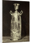 Crystal bottle, engraved, from the Louvre by Charles Thurston Thompson