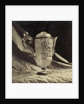 crystal decanter engraved with feminine handle, from the Louvre by Charles Thurston Thompson