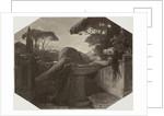 Jeune fille dans une basin by Paul Delaroche