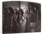 La Cenci marchant au supplice by Paul Delaroche