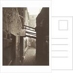 Close, No. 83 High Street, alley near High Street in Glasgow UK by Thomas Annan