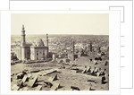 Cairo, seen from the citadel, 1858 by Anonymous