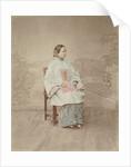 China, portrait young woman by Baron Raimund von Stillfried und Ratenitz