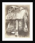Embroidered saddle from India by Hugh Owen