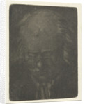 Head of a man with glasses by Anthonie van den Bos