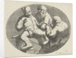 Merry peasant party by Cornelis A. Hellemans