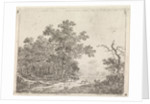 Landscape with oak and livestock by Johannes Christiaan Janson
