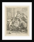 Achilles and the daughters of Lycomedes, J. Alexander Janssens by Victor Honoré Janssens