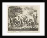 Horse Feeding by D. Langendijk
