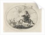 Battle with riders by Dirk Langendijk