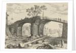 Bridge over a river by Antoine Bonenfant