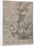 The Saint Michael guards the gate of heaven by Jacob van Oost I