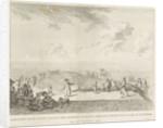 Whale stranded in Wijk aan Zee, 1791 by Leendert Overbeek