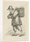 Fishmonger, with basket on the back by François Joseph Pfeiffer II