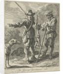 Hunter by Petrus Johannes van Reysschoot