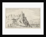The fortified town on a hill by Gillis van Scheyndel I