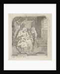 Holy Family in an Interior by Aert Schouman