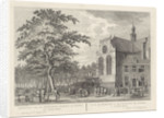 View of the North Market and Noorderkerk in Amsterdam, The Netherlands by Pierre Fouquet Jr