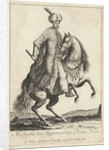 Equestrian Portrait of Kara Mustafa by Nicolaes Visscher II