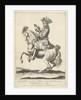 Equestrian Portrait of King Charles XI of Sweden by Nicolaes Visscher II