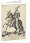 Equestrian Portrait of Imre Thököly by Nicolaes Visscher II