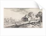 Forked Road at a watermill by Jan van de Velde II