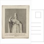 Portrait of Pope Pius VII by Jan Gerritsz. Visser