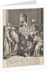 Sermon of St. Thomas Aquinas in Paris, France by Otto van Veen