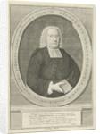 Portrait of the pastor Wilhelmus Schortinghuis, A. Durleu, Jurjen Spandaw by J. Bolt