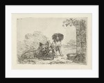 Two dogs by David van der Kellen II