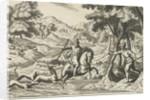 Deer Hunting by Theodor van Merlen II