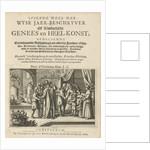 Preparation of drugs and bloodletting, Julius Milheuser by Cornelis Jansz Zwol