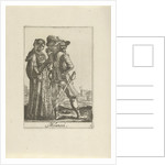 Couple dressed in the Milanese fashion by Johannes Covens and Cornelis Mortier
