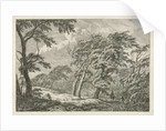 Landscape with storm and rain by Franciscus Andreas Milatz