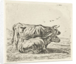 Two cows by Aelbert Cuyp