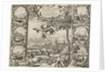 victories of King William III in Ireland (upper half), 1690 by Daniel de Lafeuille