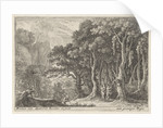 Sater gathers fruit by Herman van Swanevelt