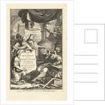 Jewish symbols and figures from the Bible, John Jacobsz van den Aveele by Wilhelmus Goeree I