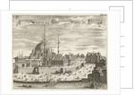 View of Hagia Sophia Mosque by Johannes Jacobsz van den Aveele